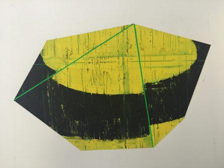 David Row - study for Moonshadow