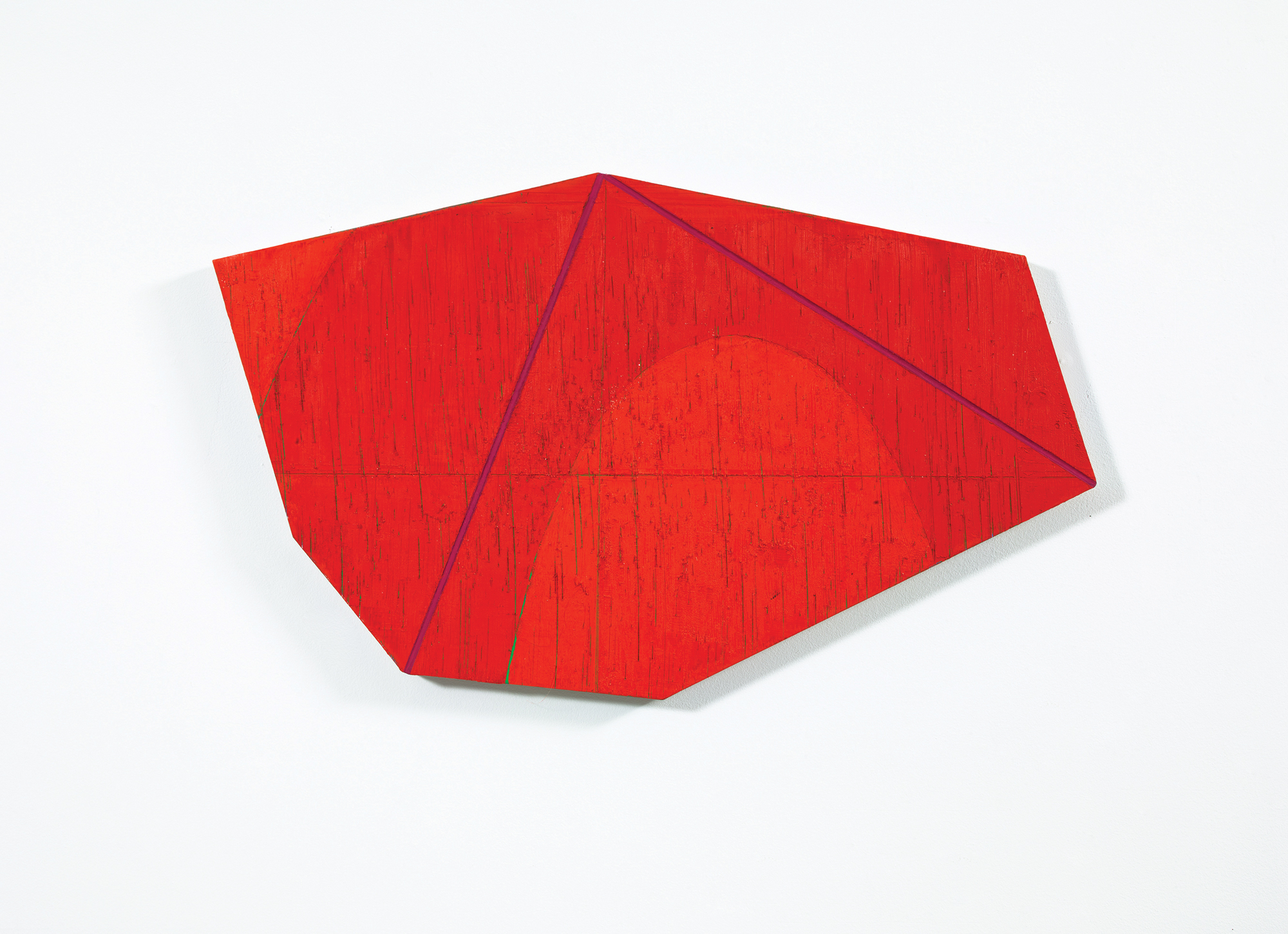 David Row - Red on Red