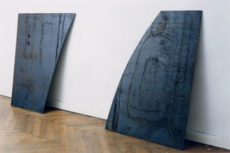 David Row - Two Leaning Pieces