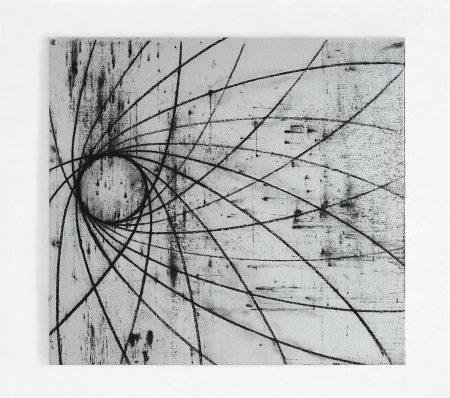 David Row - Circle Drawing IV: Thirteen Moons