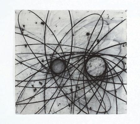 David Row - Circle Drawing II: Ten to a Dozen
