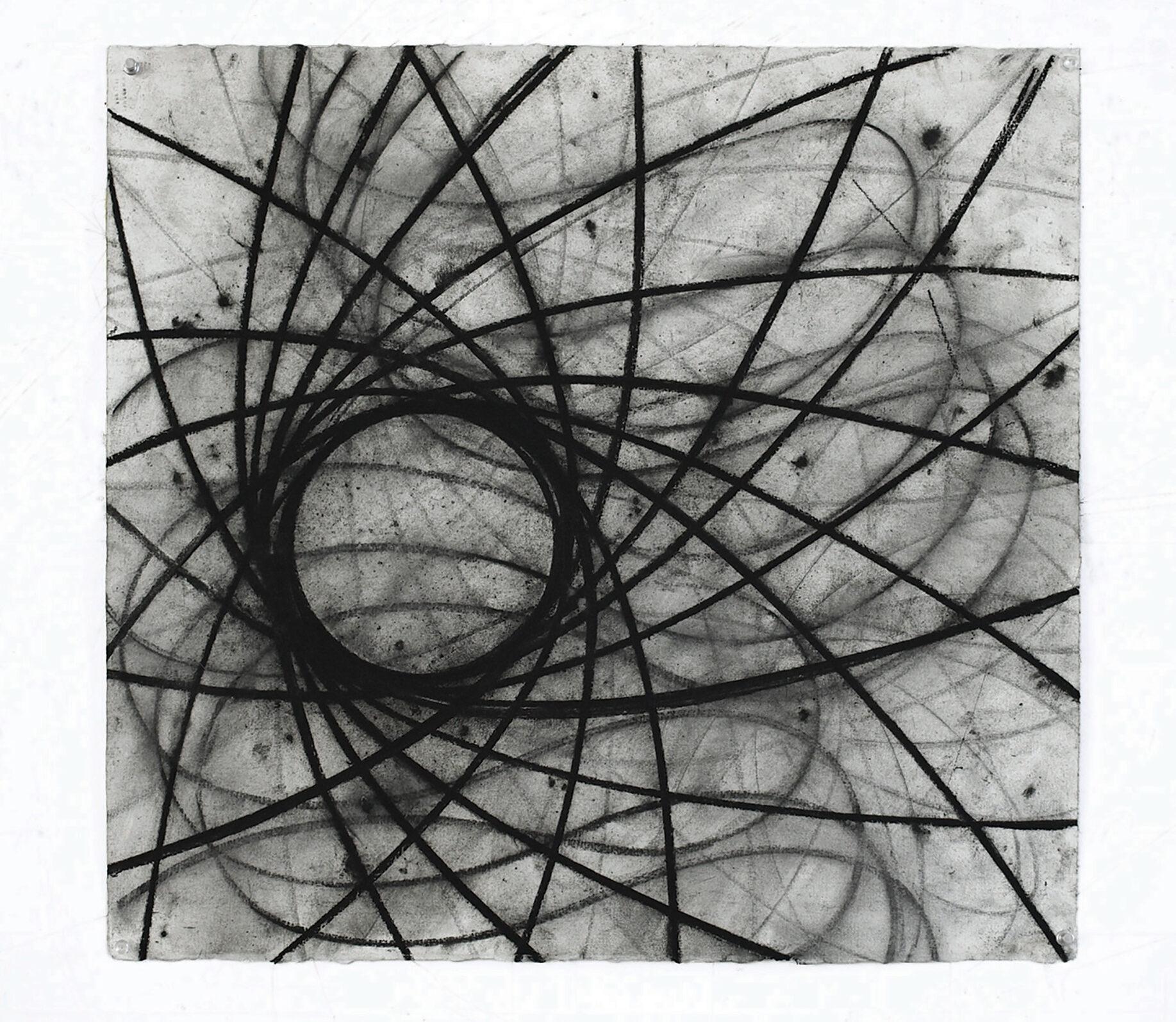 David Row - Circle Drawing III: Fifteen Degrees