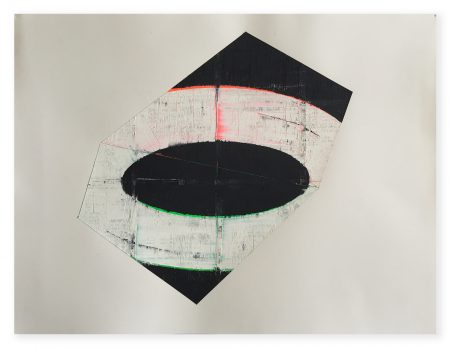 David Row - study for Black and White
